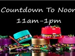 Count Down to 12:00 (Noon) New Year's Eve Family Glow Party