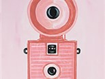 Adult Canvas Night July 31st  Vintage Camera