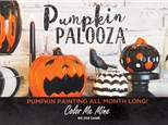 PUMPKIN PAINTING PARTY SATURDAY and SUNDAY SEPT 28 AND 29TH