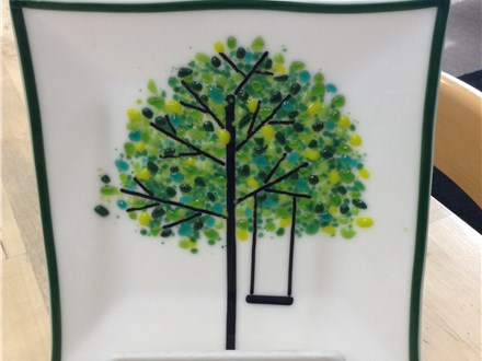 DDD-Glass Fusing/ Spring Tree