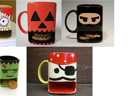 Make a Dunk Mug at Over the Moon Ceramic Studio!!