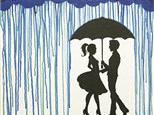 Adult Canvas Night April 16th Meet Me in the Rain