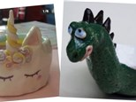 Art Club: Unicorn OR Dragon Bowl