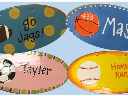 Sports Plaque party package - Saint Johns