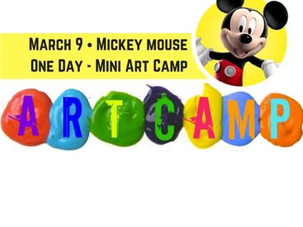 Micky Mouse Mini Art Camp
