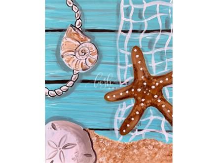 Seashells Paint Class