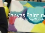 Parent & Child Canvas Painting - Family Day