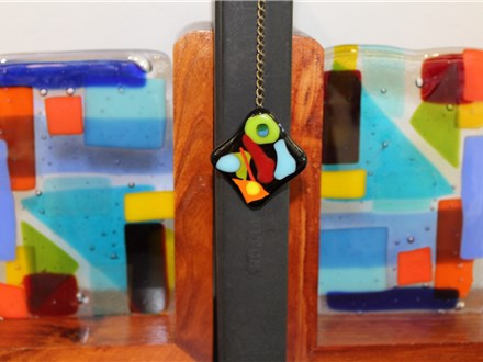Fused Glass Bookends with a Free Bookmark Adults 9/13 5pm