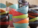 Summer Camp Ice Cream Bowls - set of 4 Thursday, July 29th 10AM-12PM