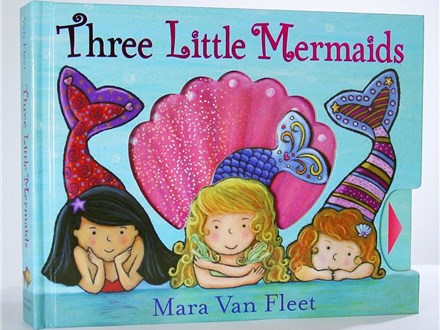 Story Time Art - Three Little Mermaids - Morning Session - 08.07.18