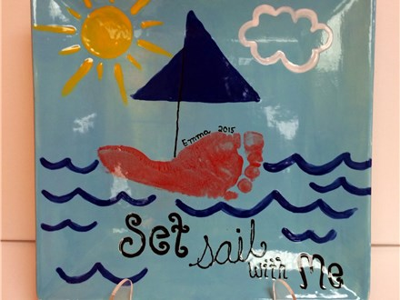 August 9th Paint Me a Story - Come sail with Me