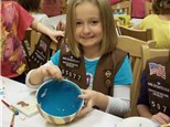 SCOUT BROWNIE POTTERS BADGE
