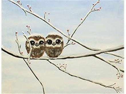 Owl Babies Canvas Class
