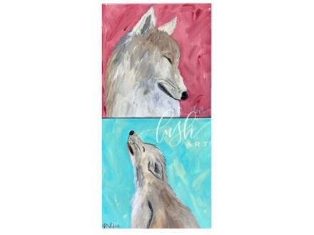 Wolf Pack Paint Class
