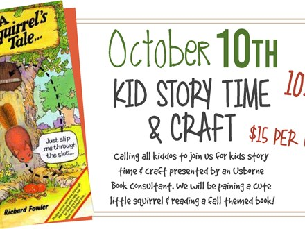 Oct. 10th Little Kiddo's Story Time