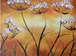 "Canvas Night ""Autumn Dandelions"" Saturday, September 24th 7-10pm"