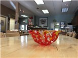 Make A Fused Glass Coral Bowl - Wed. May 19, 2021 6:30 - 9 pm