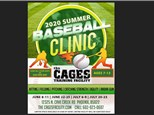The Cages Summer Baseball Clinic - June / July 2020