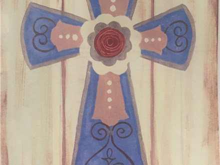 """Sunday Canvas! """"The Cross,"""" March 20th 1-3p"""