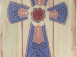 "Sunday Canvas! ""The Cross,"" March 20th 1-3p"