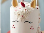 Christmas Unicorn Cake Class with Peppermint Crunch