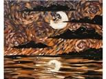 Van Gough Harvest Moon