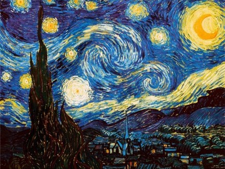 Starry Night Painting Party
