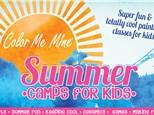 """Summer Camp WEEK 9 """"MEET THE MASTERS"""" (8/9 - 8/13)"""