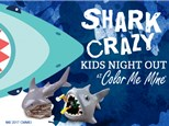 Kids' Night Out: Shark Crazy - July 26 @6pm