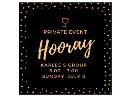Karlee's Private Paint and Sip - July 8 - 5:00