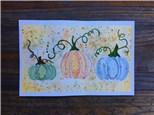 Pumpkin Patch (ages 12+) Watercolor Class