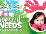 Special Needs Painting Event:  October 1, 2017 @ 6pm