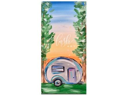 Happy Camper Paint Class