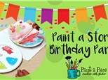 Kids Storytime Pottery Painting Party (Ages 2-5)