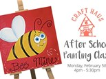 After School Painting Class: Bee Mine!