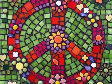Peace & Love Mosaic