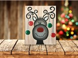 """""""Reindeer Games"""" Canvas Class ages 8 & up 12/3/20"""