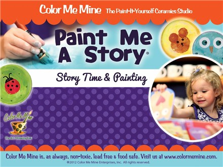 Paint Me A Story - Monday, October 14th: 10:00-11:00AM