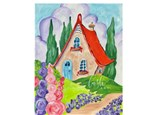 Storybook House Paint Class - Perry