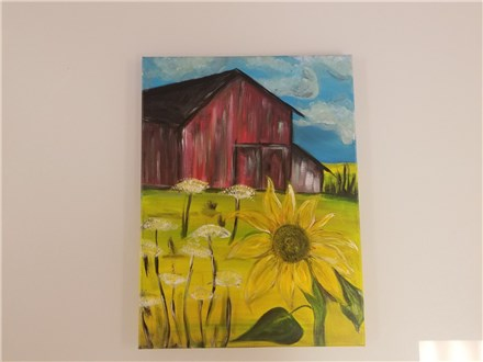 Find the Sunlight Adult Canvas Class $35