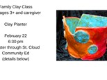 Family Clay Class-Planter pot