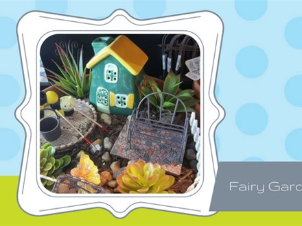 Doing Dishes  Summer Camp - Fairy Garden