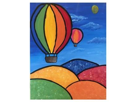 Mt. Washington Kid's Hot Air Balloon Canvas - Apr 13th