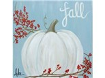 Fall Pumpkin - Thurs. Oct. 31st at 6:30pm