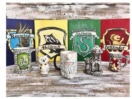Harry Potter-ry Painting Party! January 30th
