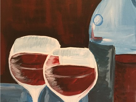 """""""Wine for 2"""" Canvas Night, 7-9pm on Thursday, May 26"""