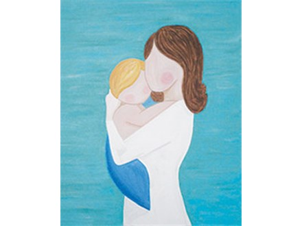 Family Canvas - A Mother's Love - 04.30.17