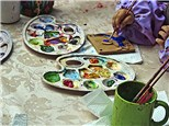 Camps: Painted Plate