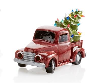 Vintage Light Up Truck with Tree Workshop 11/17/18