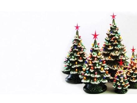 Private Event Christmas Tree Painting - Kim B.
